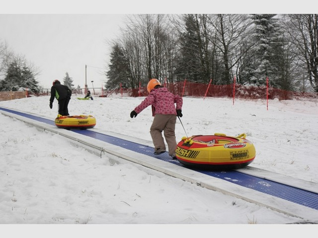 Snow and summer tubing