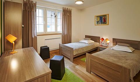 Chambre lulu deux lits