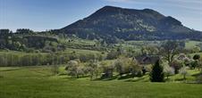Die Landschaftszenerie des Bruche Tals