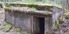 Positions fortifiées nord du Donon, sentier des casemates