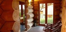 Vel'ness im Finnisches Sauna-Häuschen