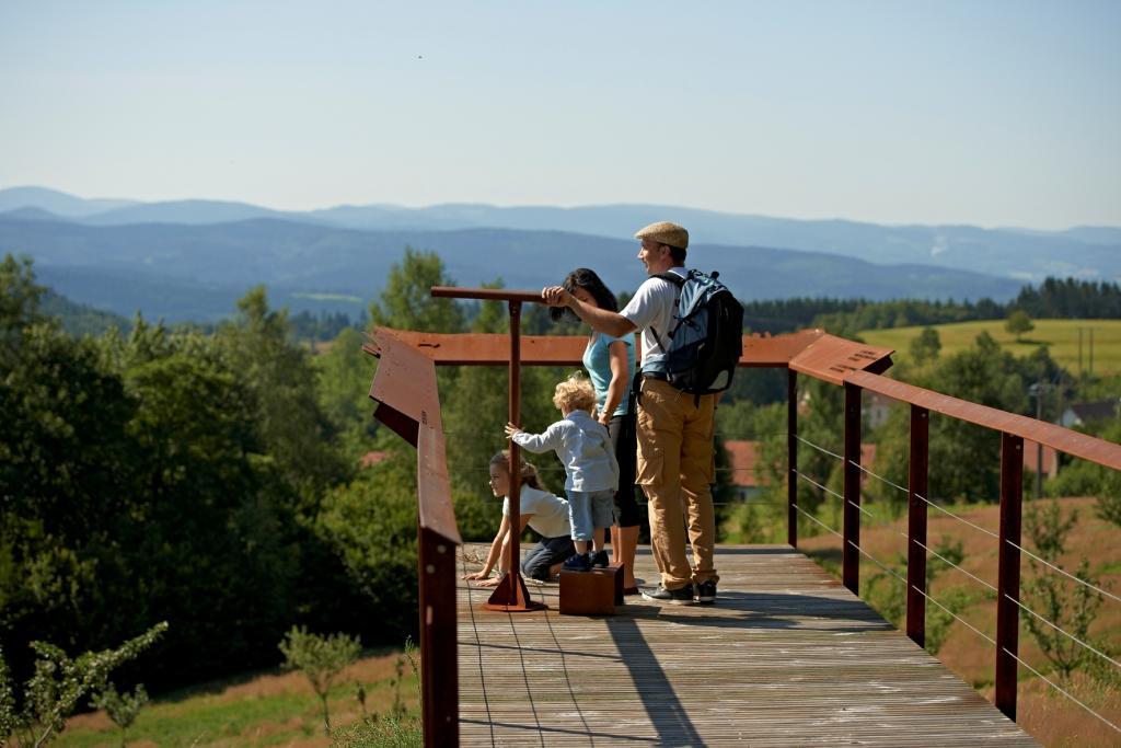 Landscape planning observation deck