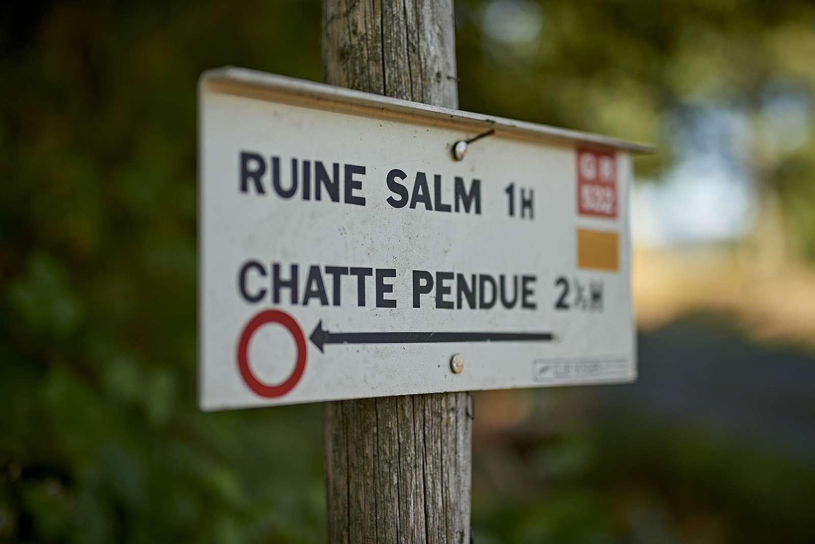 Circuit rando C05: Le sentier du Château de Salm