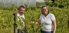 Les expériences buissonnières : Claude & Elisabeth, une histoire de petites et de grosses légumes !
