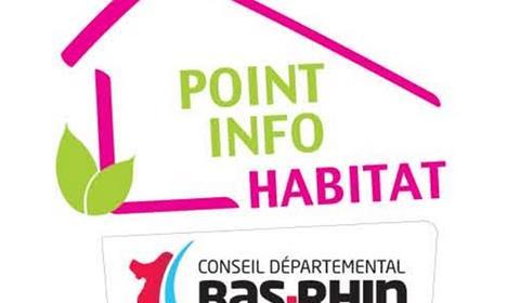 Point info habitat - Département du Bas-Rhin
