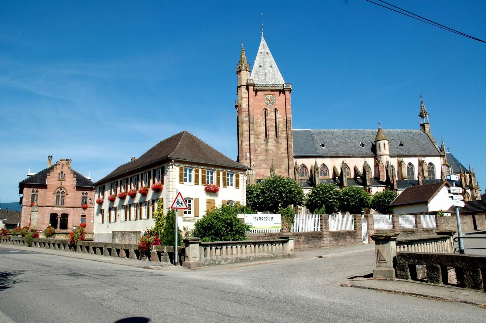 Circuit rando b06 sur les pas des p lerins de saint florent niederhaslach - Office tourisme saint florent ...