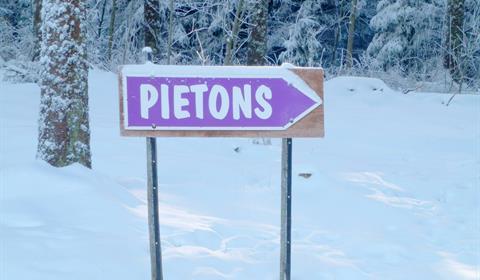 Sentier piéton, Champ du Feu © OTVB