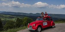 Private tours in a 2cv across the Bruche Valley