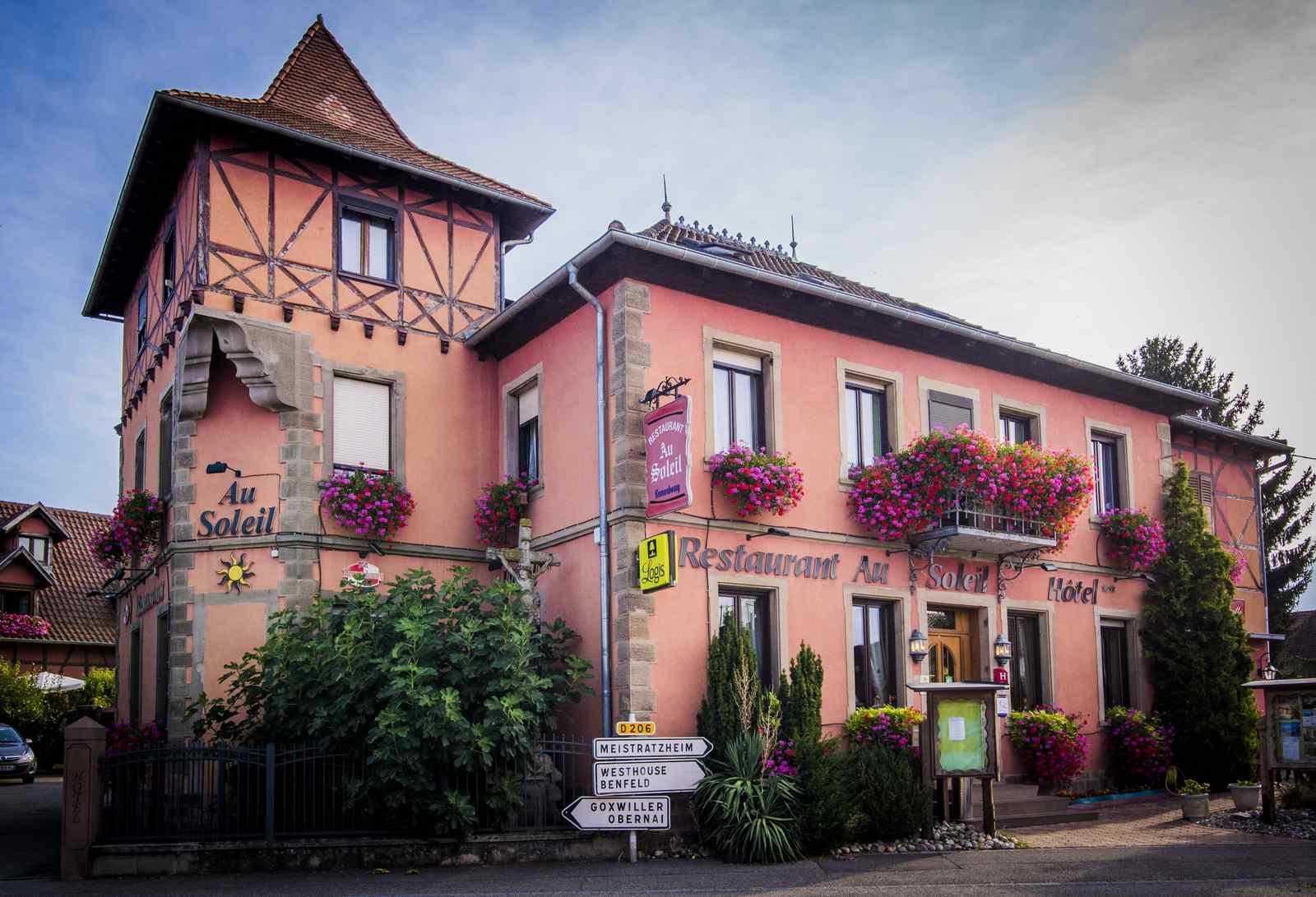 Hôtel & Spa-restaurant Au Soleil
