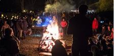 Schloß Spesbourg: Wanderung auf dem beleuchteten Pfad