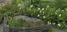 Le jardin médiéval de la chapelle Ste Marguerite