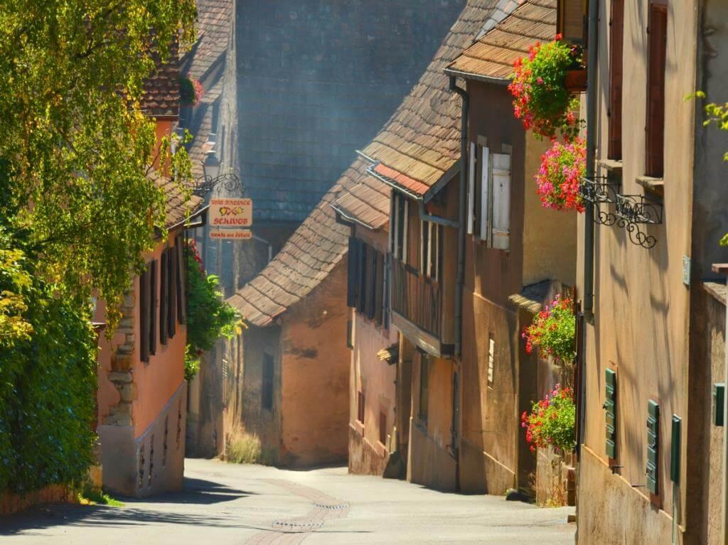 Rue de Mittelbergheim © Davis Froemter