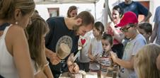 Démonstrations d'artisans dans le cadre des journées de la FREMAA