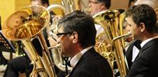 Christmas concert: brass band