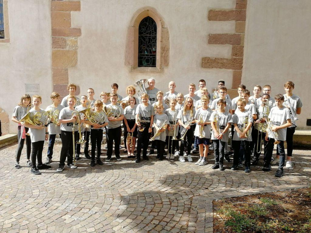 Mittelcuivrheim festival de musique : Concert de fin de stage