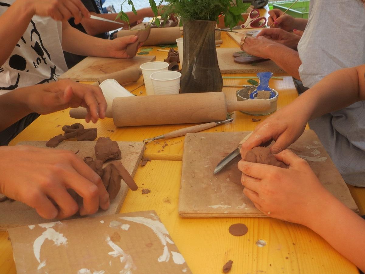 Mardi poterie : enfant