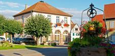 Stotzheim, village in bloom