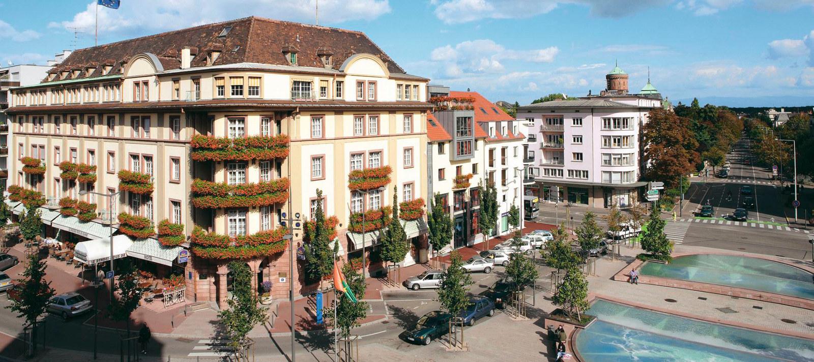 Colmar alsace france tourist office best western grand for Hotels colmar