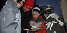 Night orienteering race