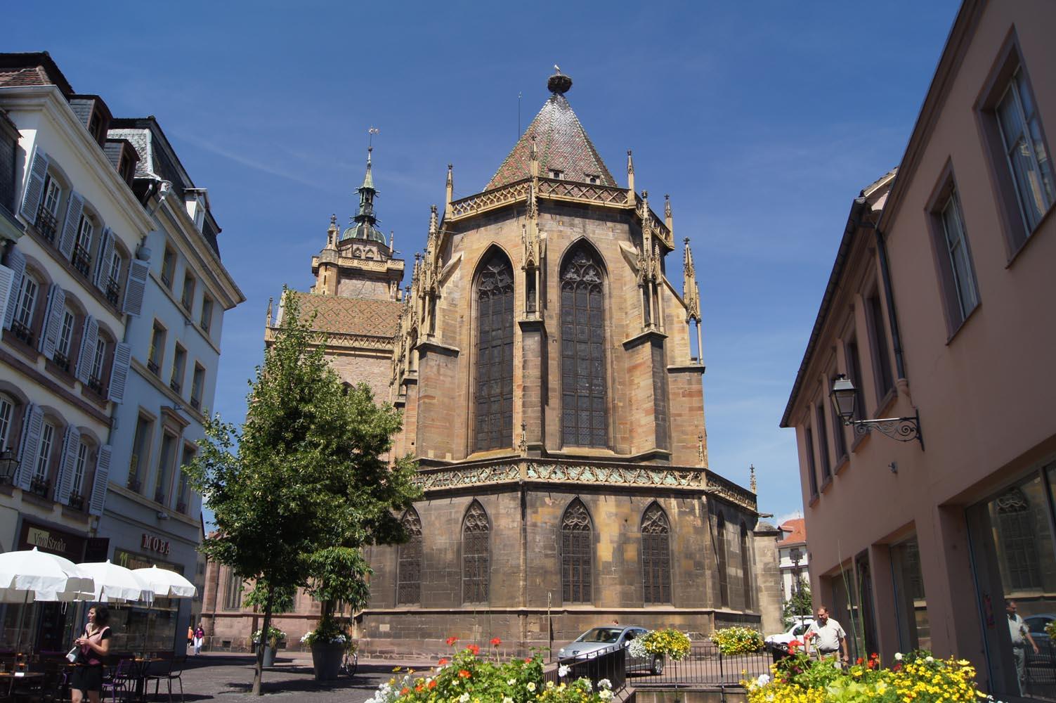 Colmar alsace france tourist office saint martin church for Colmar pictures