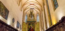 La vierge au buisson de roses dans l'église des Dominicains (OT Colmar)