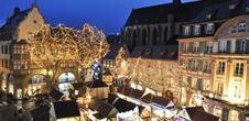 Marché de Noël - Place Jeanne d'Arc