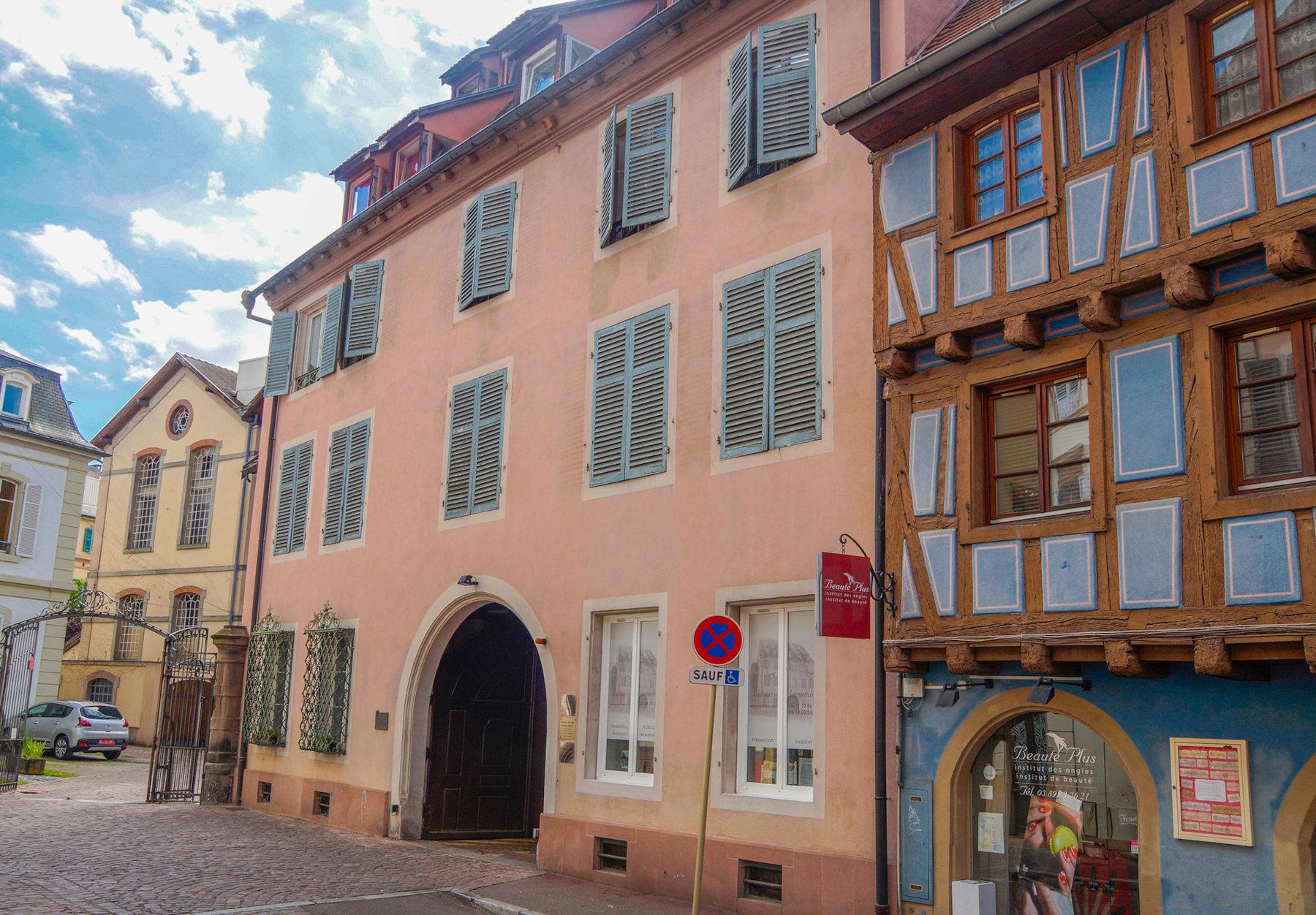 Maison où séjourna Voltaire