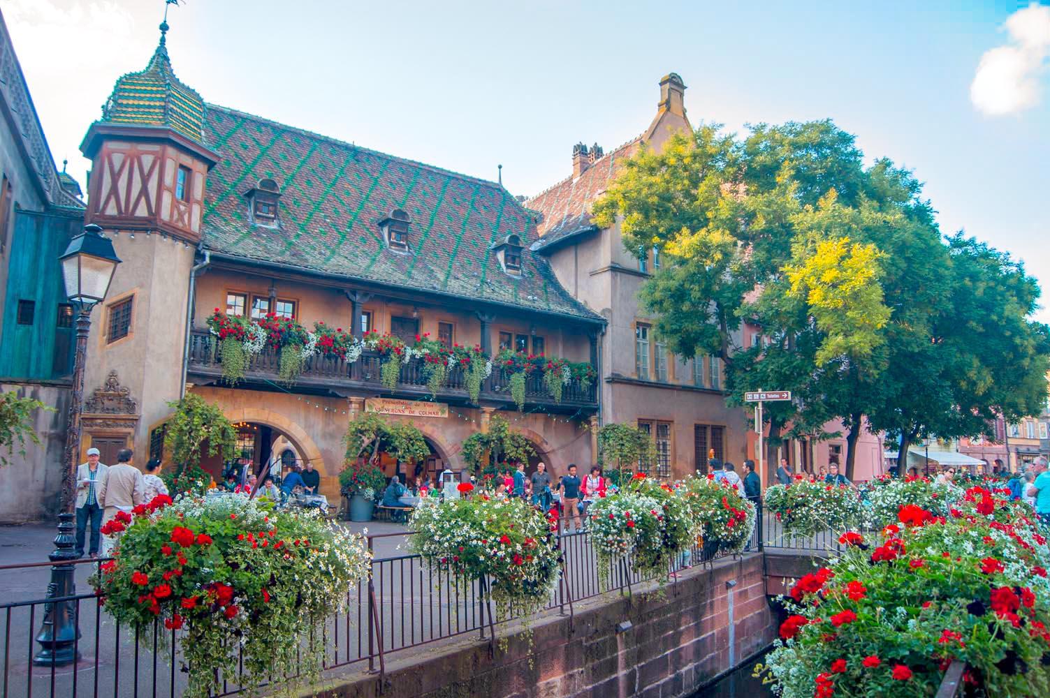 Colmar alsace france tourist office koifhus - Colmar cuisine creation ...