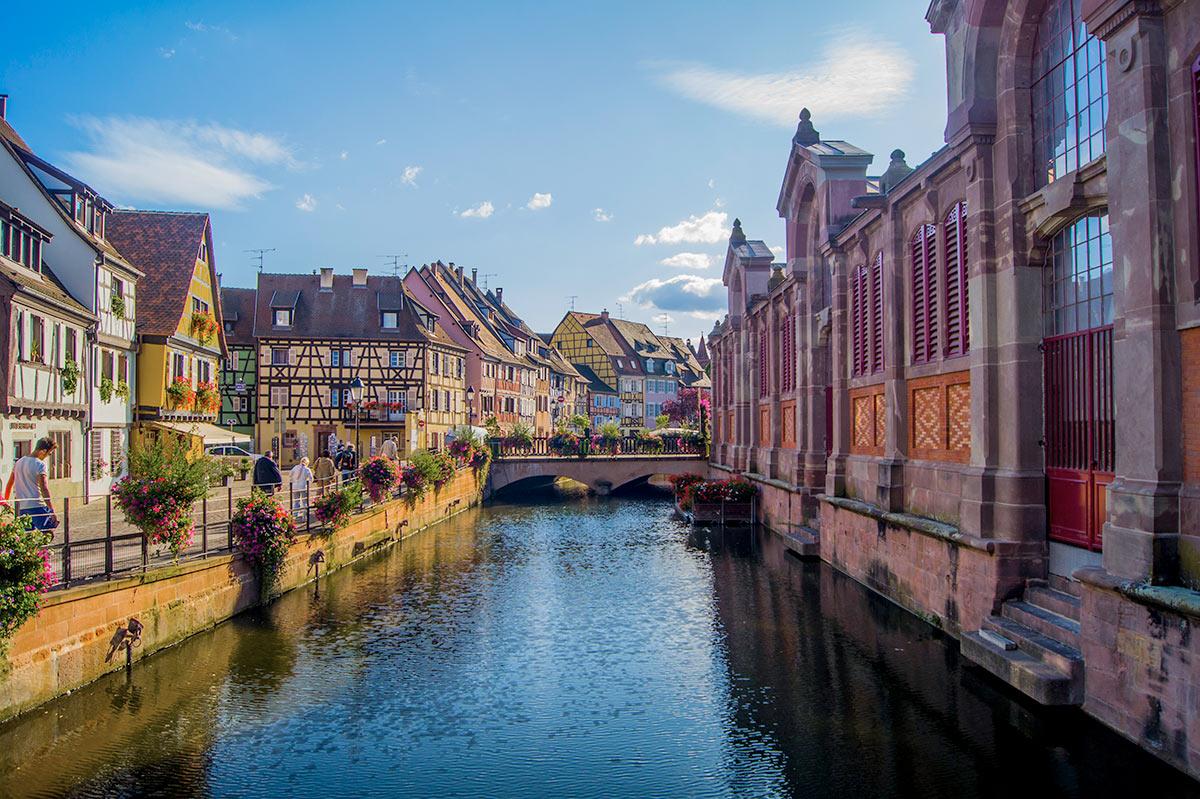 Colmar Alsace France Tourist Office The Fishmonger S District