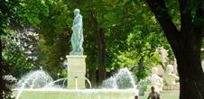 Parc du champ de Mars et fontaine Bruat (OT Colmar)