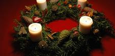 Christmas Cellar - Martin Jund's Domaine: Advent wreath