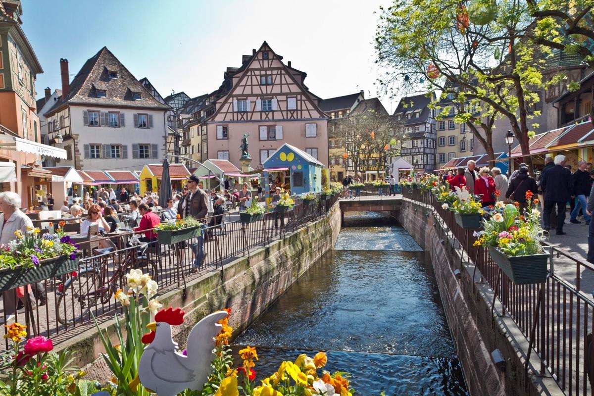 The Spring invites you in Colmar