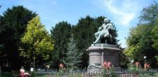 Le monument Hirn réalisé par Auguste Bartholdi (Guy Würth)