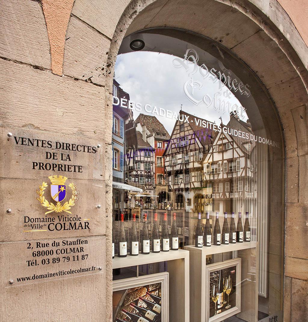 Boutique du Domaine viticole de la ville de Colmar