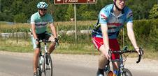 Fahrradrallye des Weinmesses