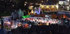 La patinoire de Noël - tempête de bulles (copie) (copie) (copie)