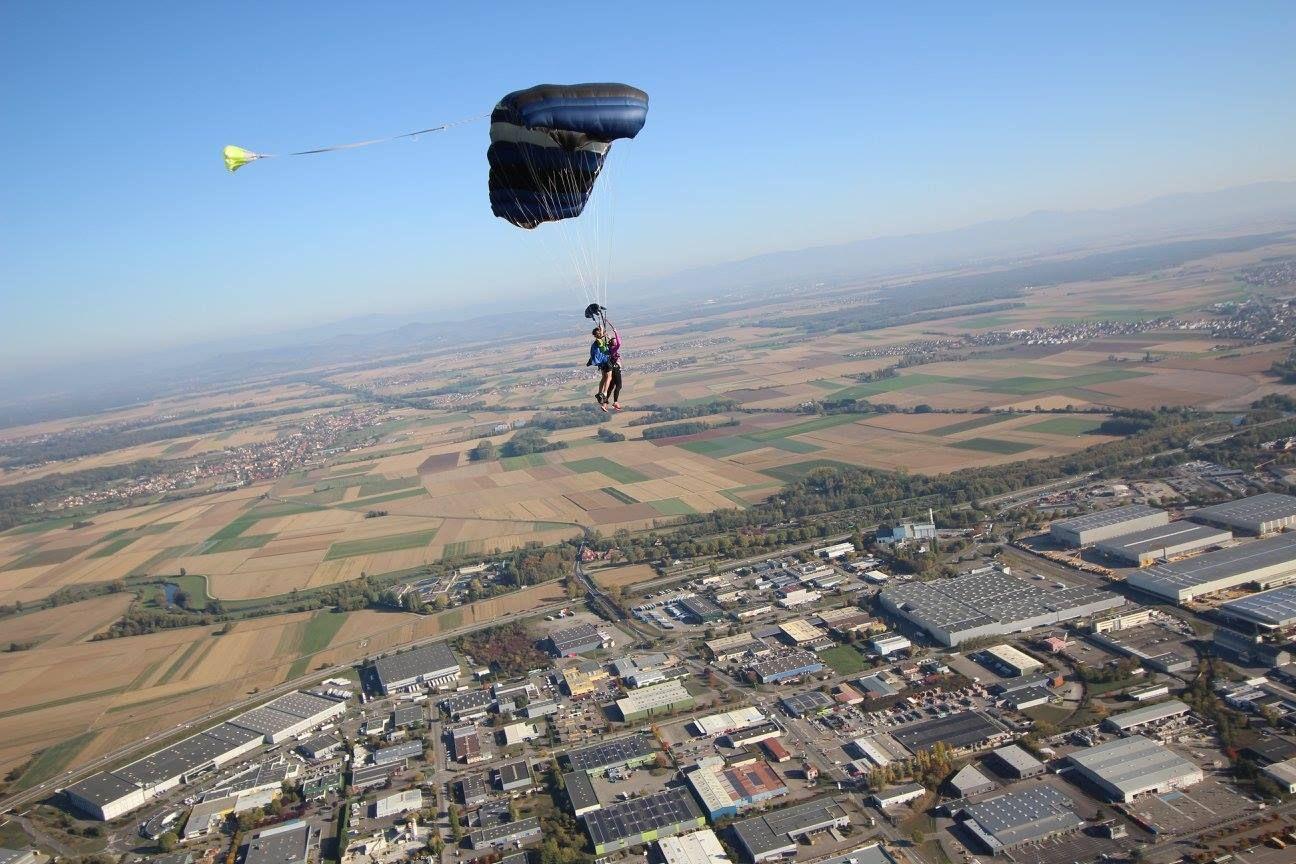 parachutisme colmar