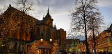 Marché de Noël - Marché gourmand Place de la cathédrale