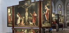 Chapelle abritant le retable d'Issenheim Musée Unterlinden, Colmar, Alsace / www.musee-unterlinden.com Crédit photo : Office de tourisme de Colmar