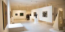 Salle d'exposition Musée Unterlinden, Colmar, Alsace / www.musee-unterlinden.com Crédit photo : Office de tourisme de Colmar