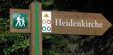 Wanderwege 'Rund um die Heidenkirche'