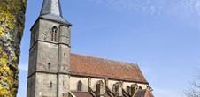 Gothic church Saint Gall