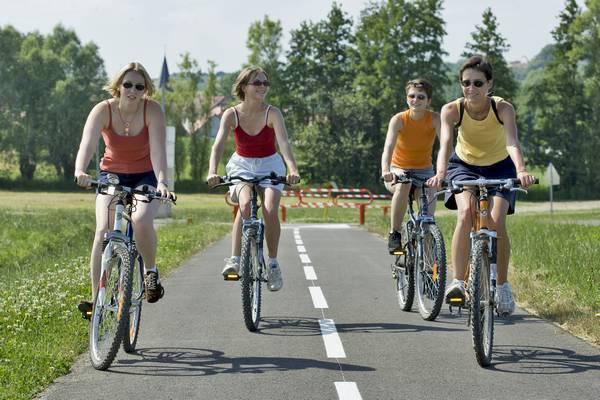 Mit dem Fahrrad durch das Krumme Elsass - blaue Schleife