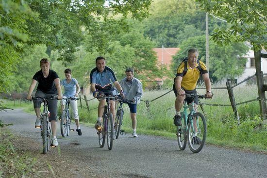 Mit dem Fahrrad durch das Krumme Elsass - grüne Schleife