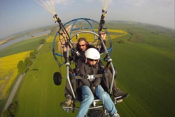 """Motor paragliding """"Rêv'ailes paramoteur"""""""