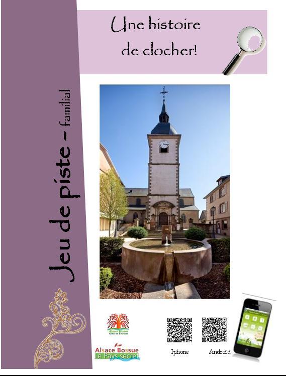 Activity book 'Une histoire de clocher!'