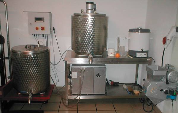 handwerkliche Brauerei - Les vergers d'Arlette