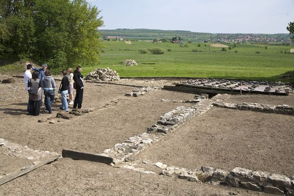 Villa et jardin gallo-romain