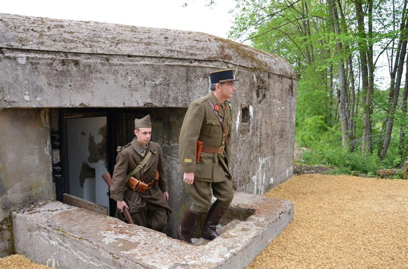 Guided tour at the Maginot line