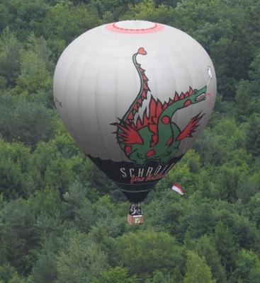 Découverte des Pays d'Alsace Bossue et des Vosges du Nord par les airs (montgolfière)